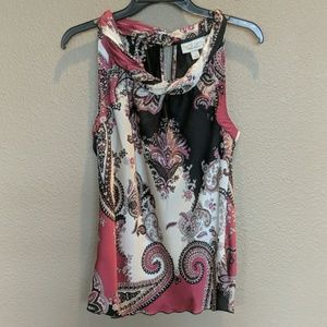 Dress Barn Women's Sleeveless Rayon Blouse S